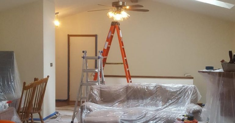 Whole House Interior Painting
